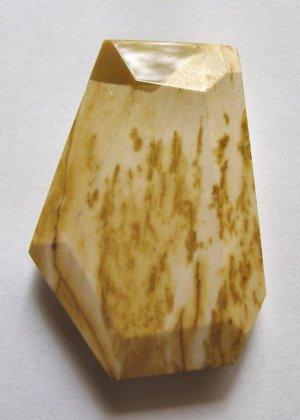 Moukaite Jasper 41x28 Wild Cut Pendant Bead