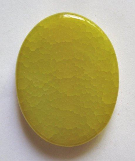 Sunshine Agate 39x30 Oval Pendant Bead