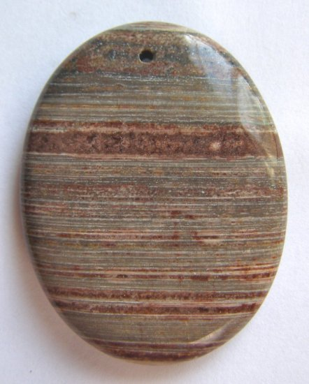 Surreal Jasper 45X35 Oval Pendant Bead