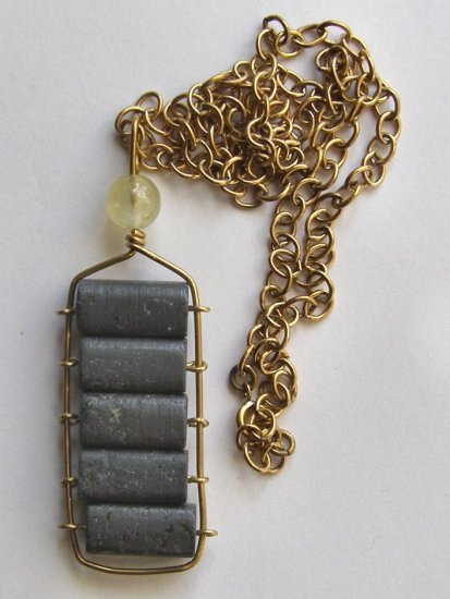 Just The Matrix  Necklace