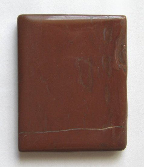 Red Jasper 50x40 Rectangle Pendant Bead
