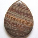 Surreal Jasper 45x35 Teardrop Pendant Bead