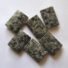 6 Rhyolite 20x15 Rectangle Beads