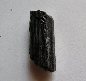 Black Tourmaline 48x16 Rough Nugget Specimen