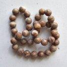 """Web Jasper 10mm Round Beads 15"""" strand"""