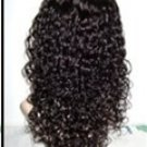 "Indian Remy Curly 1.5mm  16"" full lace Unit"