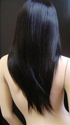 "Indian Remy Straight 12"" full lace Unit"