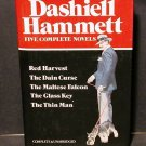 Dashiell Hammett Five Complete Novels in 1 vol HCDJ Fine
