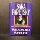 Blood Shot Sara Paretsky Warshawski Mystery HCDJ Fine