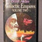 Galactic Empires Vol II Brian Aldiss HCDJ Fine 1976