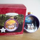 The Warmth of Home Hallmark Magic Light Christmas Ornament 1997