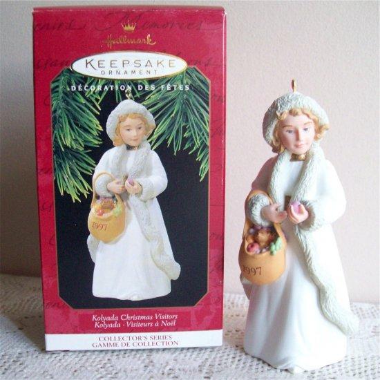 Christmas Visitors Series 3rd Kolyada Russia 1997 Hallmark Ornament