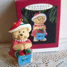 Hallmark Shopping Mom Christmas Ornament Mother 1993 Bear