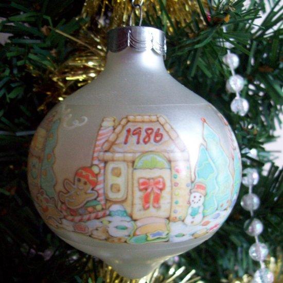 Hallmark Gingerbread House New Home 1986 Christmas Ornament
