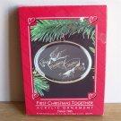 Hallmark Acrylic First Christmas Together 1985 Ornament