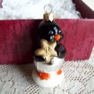 Frosty Friends Penguin Hallmark Poland Blown Glass