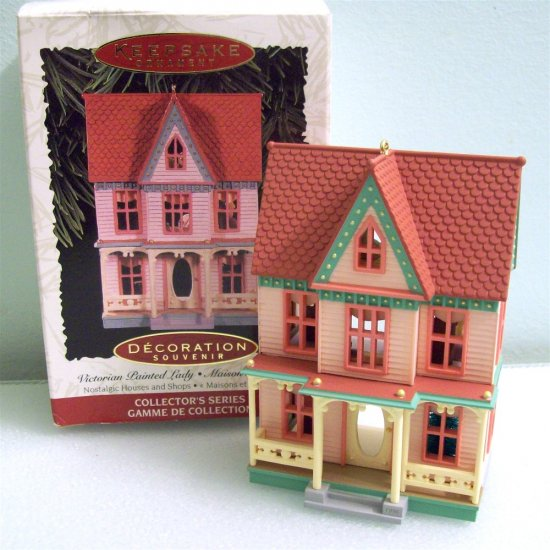 Victorian Painted Lady 13th in Nostalgic Houses Hallmark Series 1996