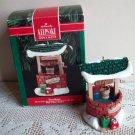 Hallmark Sweetheart Christmas Ornament Wishing Well 1990