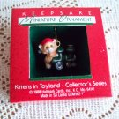 First in the Kittens in Toyland Miniature Series 1988 Hallmark Christmas Ornament