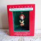 Little Drummer Boy 1988 Hallmark Miniature Christmas Ornament