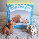Hallmark Noah's Friends Merry Miniatures Set of 2 Figurines