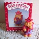 Cupid Cameron Cat from Hallmark 1997 Merry Miniatures Personalities