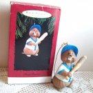 Busy Batter Hallmark Christmas Ornament 1994 Beaver