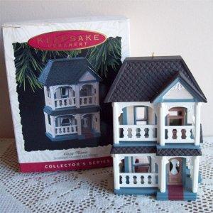 Tenth 10th in Nostalgic Houses Hallmark Series Christmas Ornament 1993