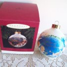 Hallmark Godparent Glass Ball Chistmas Angels 1994