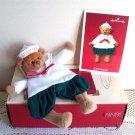 Hallmark Grandson Gift Holder Teddy Bear Christmas ornament 2002