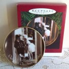 Hallmark Our First Christmas Together Collector's Plate Vintage Picture
