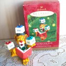 Lionel Plays with Words Hallmark Ornament 2001 Match the blocks