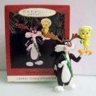Sylvester and Tweety Hallmark 1993 Looney Tunes Ornament