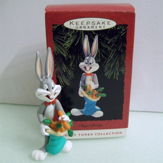 bugs bunny 1993 hallmark looney tunes collection ornament