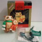 1992 Magic Light Hallmark Ornament Watch Owls