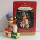 Milk and Cookies Express Hallmark 1999 Christmas Ornament Train Bear