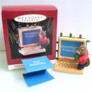 1993 People Friendly Personalized Computer Hallmark Christmas Ornament
