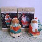 Hallmark Symbols of Christmas titled Jolly Santa and Sweet Song 1995
