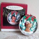 Snowy Hideaway 1993 Fox Hallmark Christmas Ornament