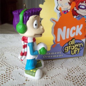 rugrats tommy nickelodeon all grown up christmas ornament - Rugrats Christmas