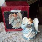 Joyful Messenger Hallmark Christmas Angel Ornament 1998