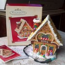 Ginger Bread Cottage Hallmark 2002 Light Christmas Ornament Scented Magic