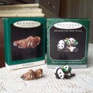 Miniature Merry Walruses Peaceful Pandas Noah's Ark Animal Collection Hallmark