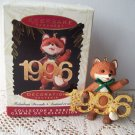 Fabulous Decade 1996 7th in Series Fox Hallmark Ornament