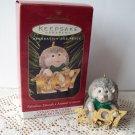 Hallmark Fabulous Decade #8 in series Hedgehog on brass 1997