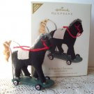 A Pony for Christmas Hallmark 2008 Limited Special Edition Ornament w Bear