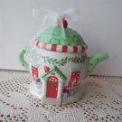 2001 Hallmark Cozy Home Teapot Ornament