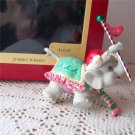 Carlton Jumbo Wishes Special Grandchild 1993 Elephant Ornament