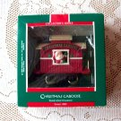 Hallmark Christmas Caboose 1989 Here Comes Santa Series #11 Train