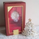 Lenox Ivory Fine Porcelain Tea Light Candle Holder gold highlights